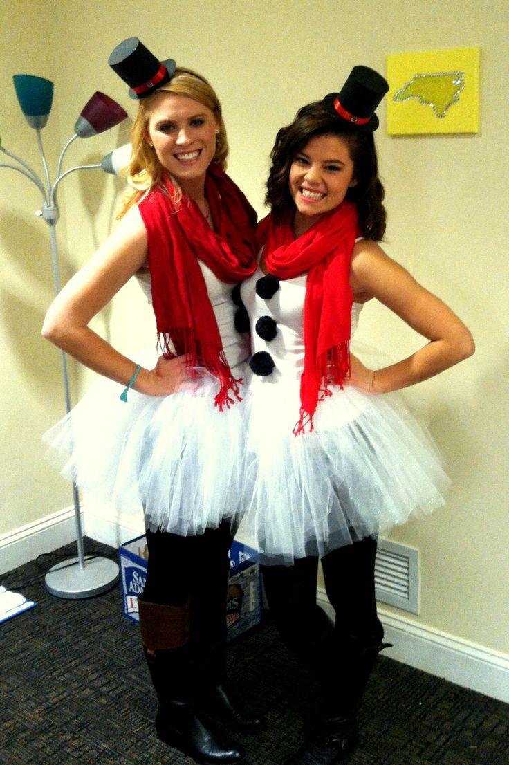 Do you wanna build a snowman? DIY snowman costume
