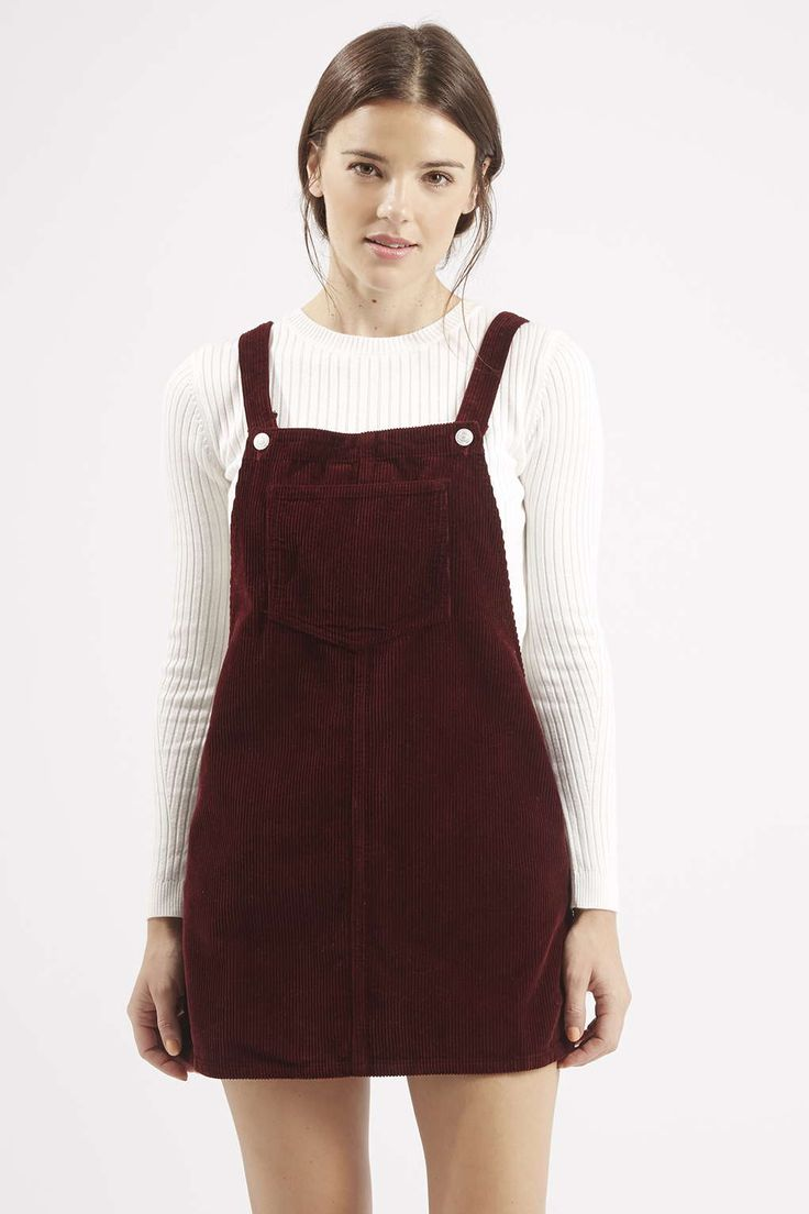 Photo 3 of MOTO Cord Pinafore Dress