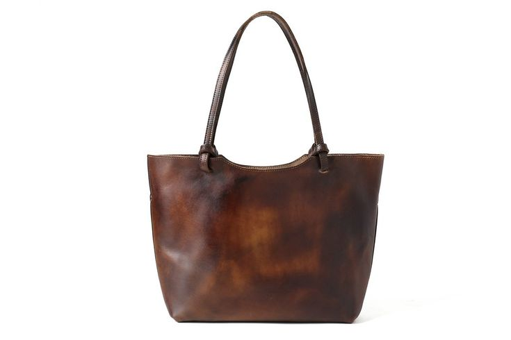 mami leather day tote bag