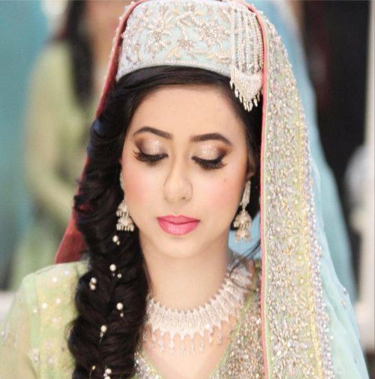Kashmiri Bride Makeup by: Natasha Salon