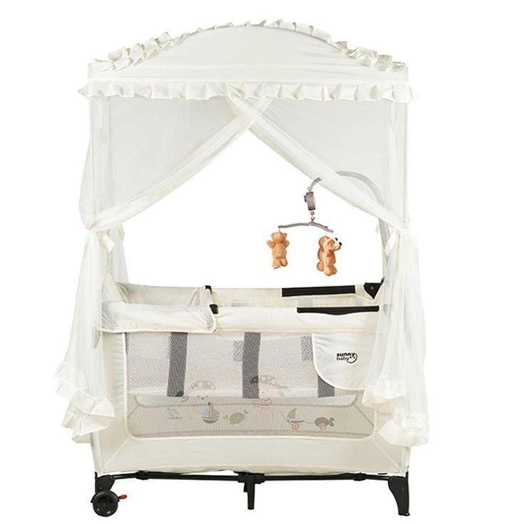 Sunny Baby Carmela Oyun Parkı 70x110 cm Beyaz | 429,00 TL | Sunny Baby Hemen Al!