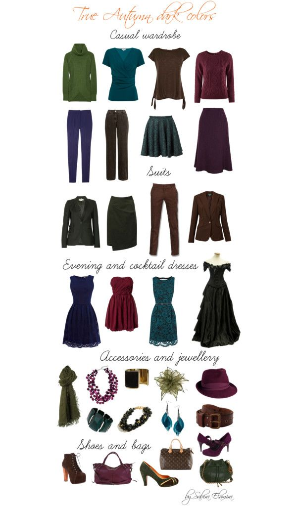 """""""true autumn dark colors"""" by sabira-amira ❤ liked on Polyvore"""