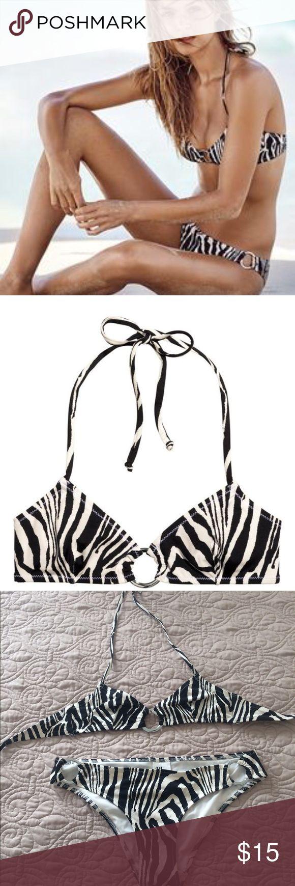 Zebra bikini H&M bikini set H&M Swim Bikinis