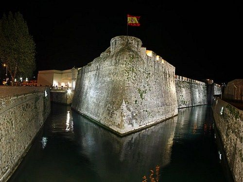 Las Murallas Reales de Ceuta.  Ceuta, Spain.