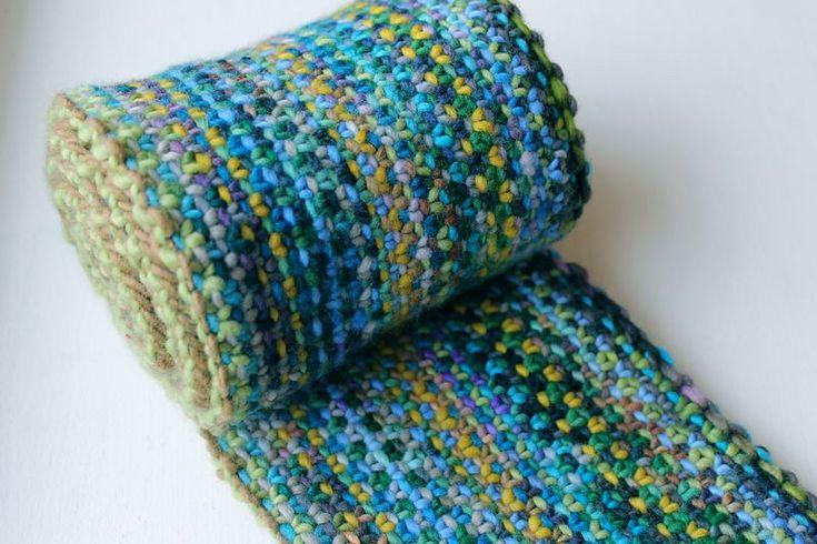 Ravelry: Malabrigo Linen Stitch Scarf by Scott Rohr/rohrknits