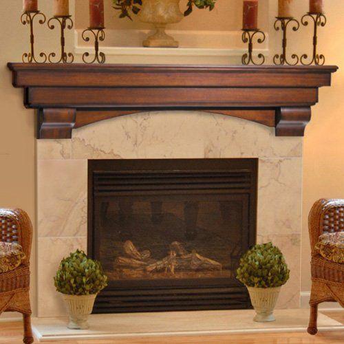 Pearl Mantels 495 Auburn Fireplace Mantel Shelf - 25+ Best Ideas About Fireplace Mantels On Pinterest Mantels