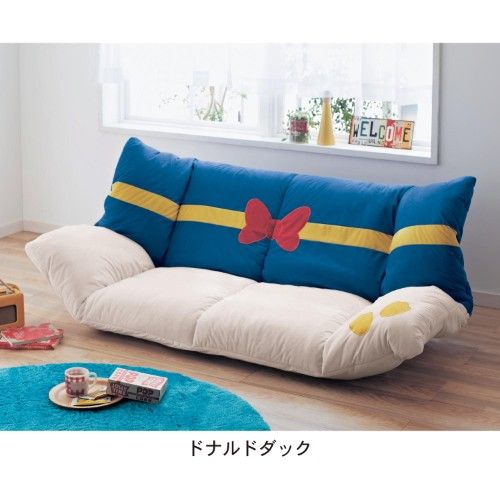 Donald Duck Couch Sofa from Disney Store Japan