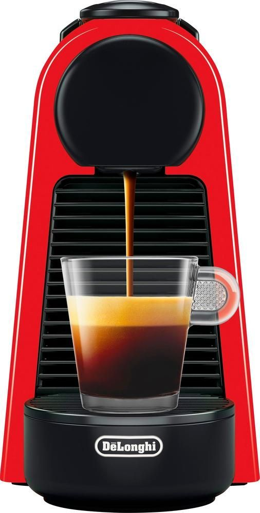 De'Longhi - Essenza Mini Coffeemaker - Red