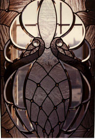 Art Deco: Glass: Art Nouveau, Artnouveau, Graphics Design Posters, Glasses Doors, Artdeco, Beveled Glass, Stained Glasses, Nouveau Window, Art Deco Tattoo