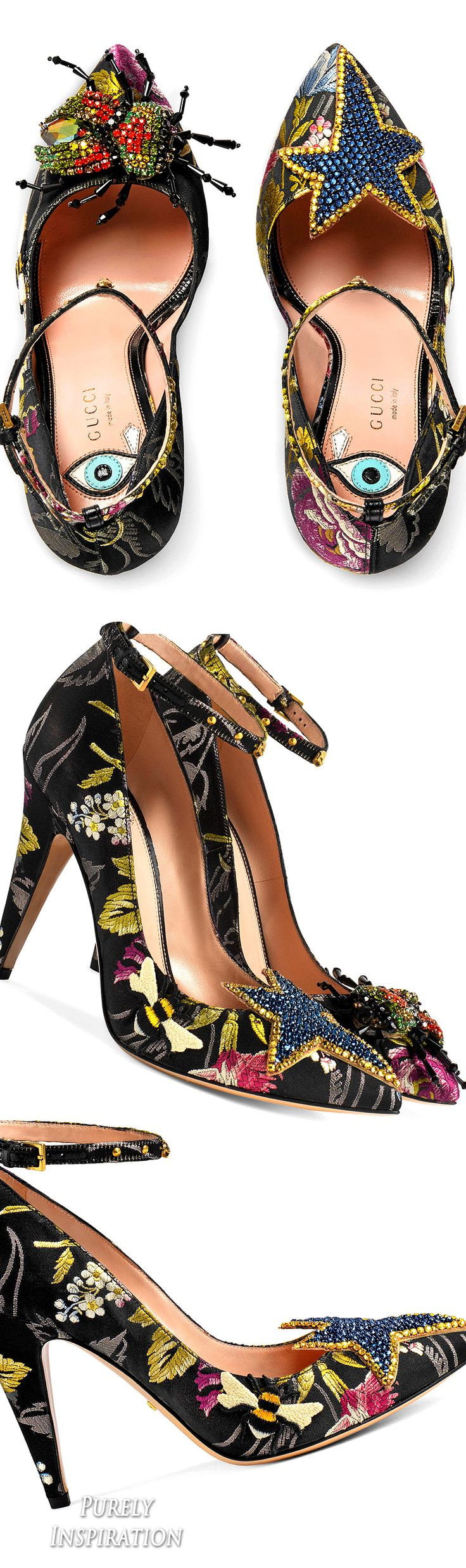 Gucci Floral jacquard pump | Purely Inspiration