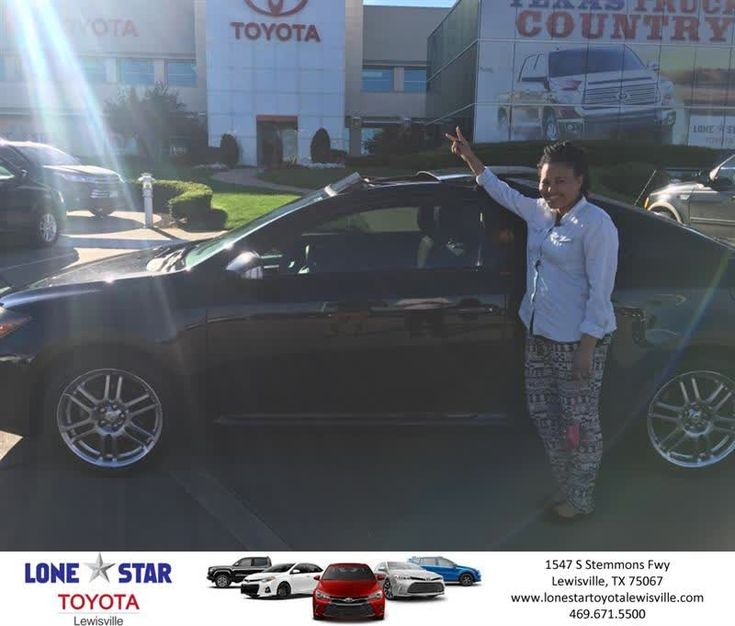 Lone Star Toyota of Lewisville Customer Review  Chris Richardson at Lone Star Toyota made the car buying experience so much fun ! I love my 2010 Scion tC. Thanks to everyone at Lone Star especially my salesman Chris Rich!   Kara , https://deliverymaxx.com/DealerReviews.aspx?DealerCode=E208&ReviewId=57427  #Review #DeliveryMAXX #LoneStarToyotaofLewisville