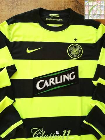 164303fc0ab Official Nike Celtic away long sleeve football shirt from the 2009/10  season.