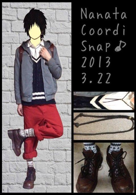 古着, ハンドメイド, ドクターマーチンのファッションコーディネート(七太さん) 175525 |コーデスナップ