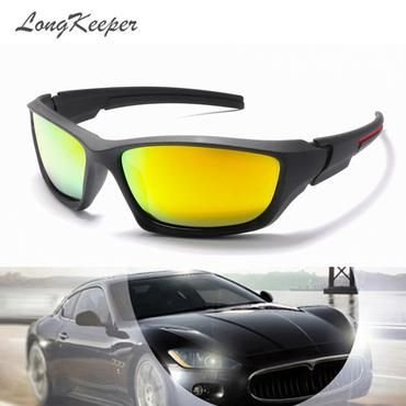 LongKeeper HD Polarized Sunglasses Men Night Vision Driving Sports Sun  Glasses Women Vacation Luxury Brand Design 406623cb4f