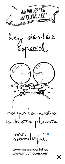 funny illustration. www.mrwonderful.es
