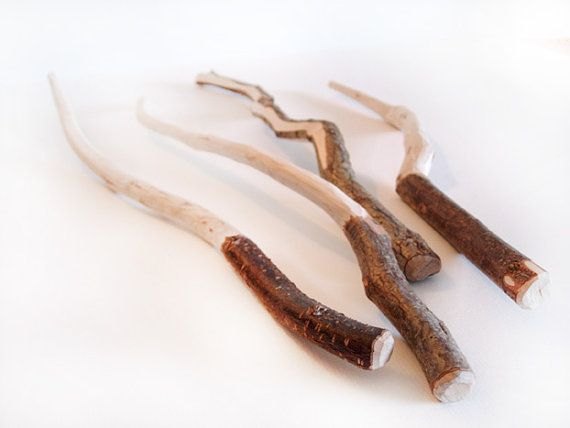 10 Wizard Party sticks - hazel wood wands. Put some magic in your life...