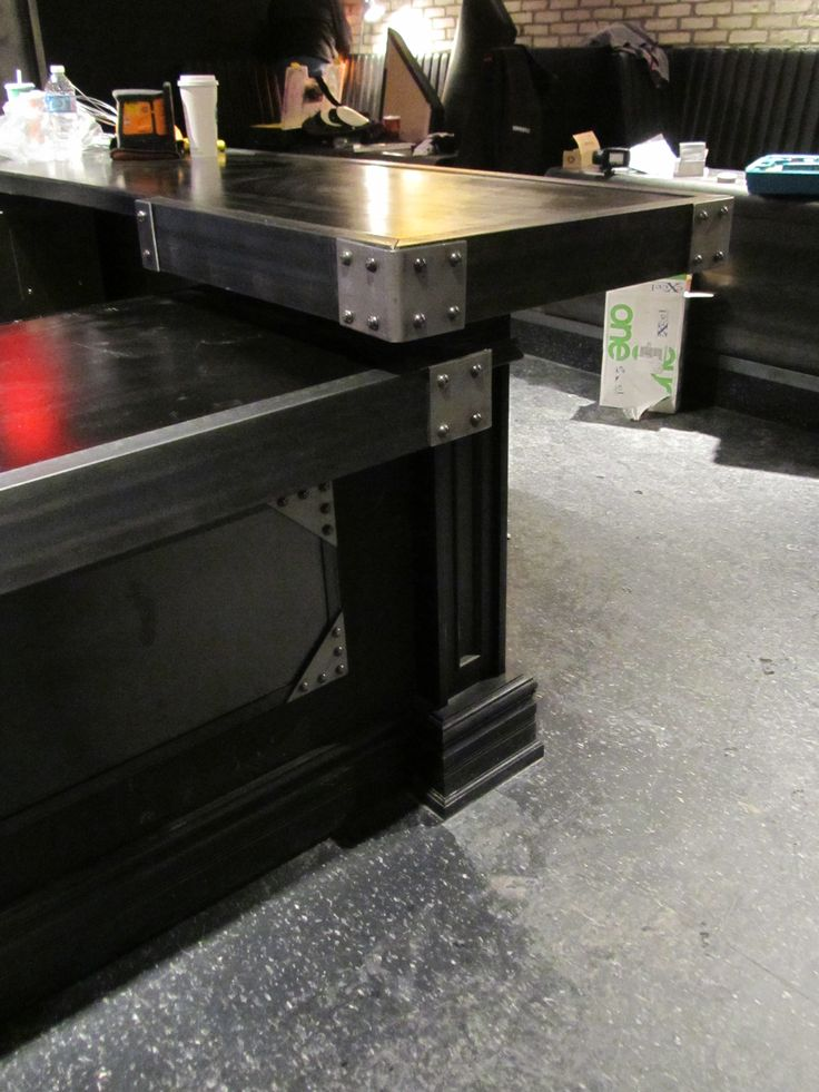 Industrial Bar Top