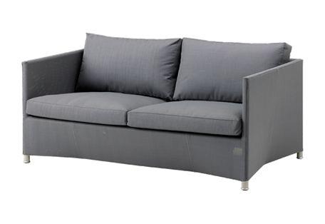 Diamond 2-seater sofa incl. cushion set