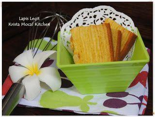 KRISTA MOCAF KITCHEN: Mocaf Lapis Legit - Mocaf Layer Cake