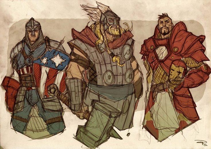 Medieval #Avengers