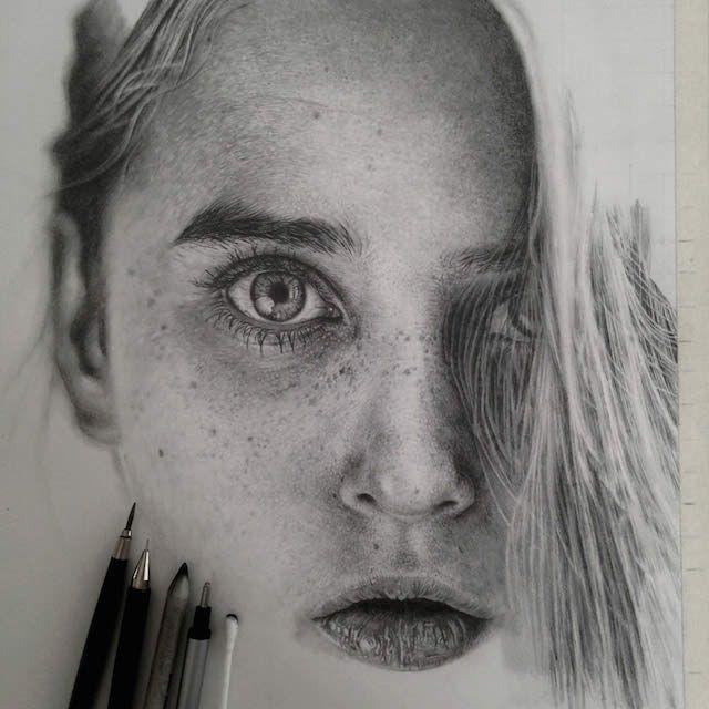 Com apenas um lápis, artista chega à perfeição ao reproduzir fotografias   Catraca Livre
