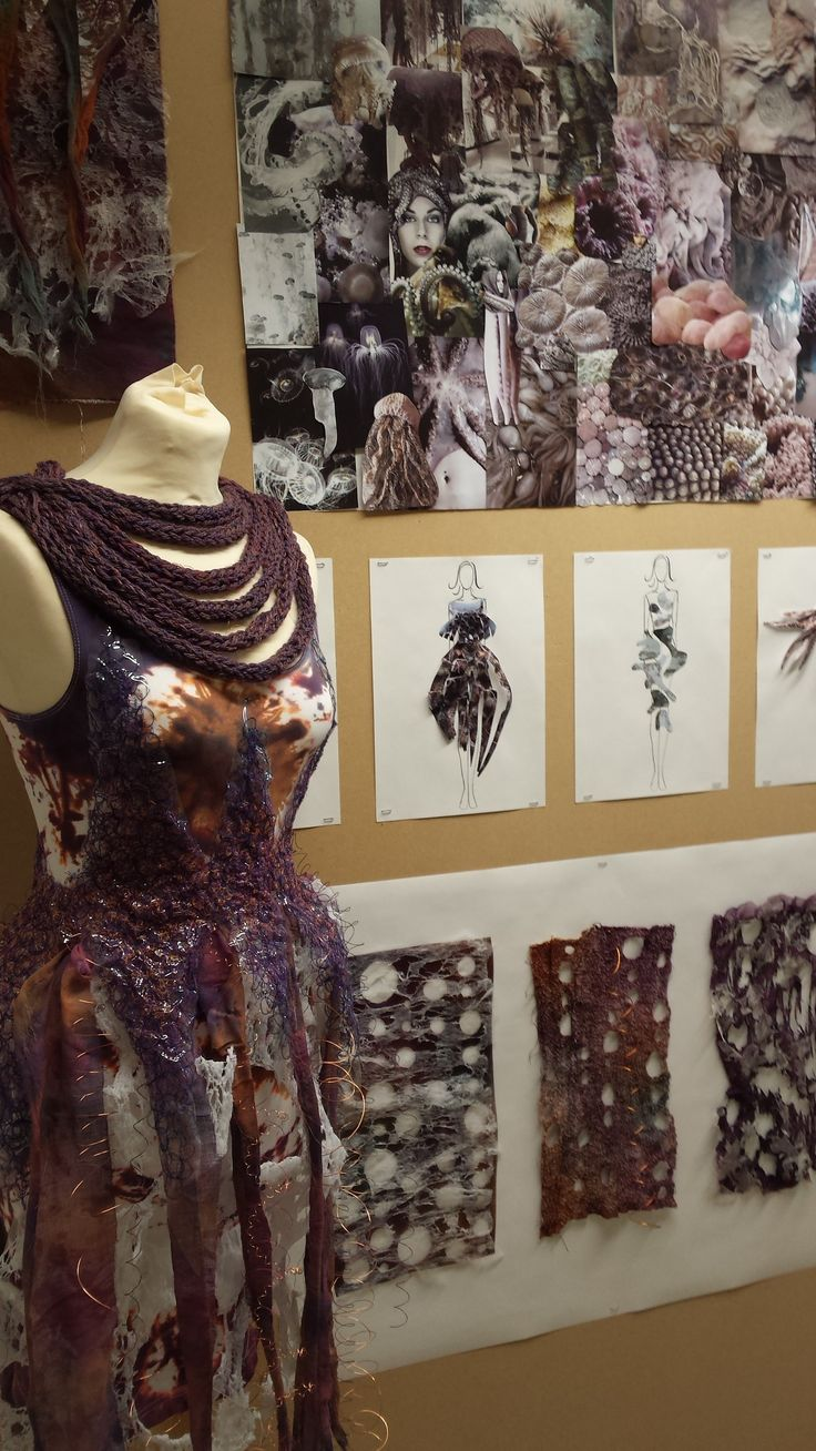 Helen Horkan's Natural Forms Fashion Project