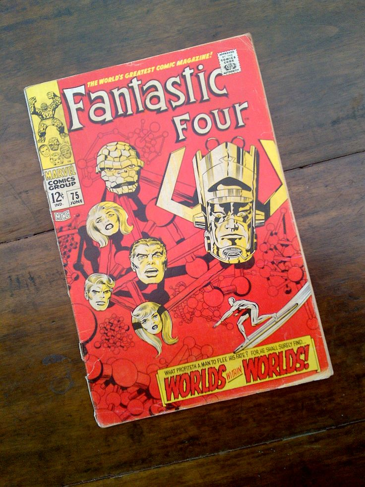 Fantastic Four - June no 75 Marvel comic - 1968