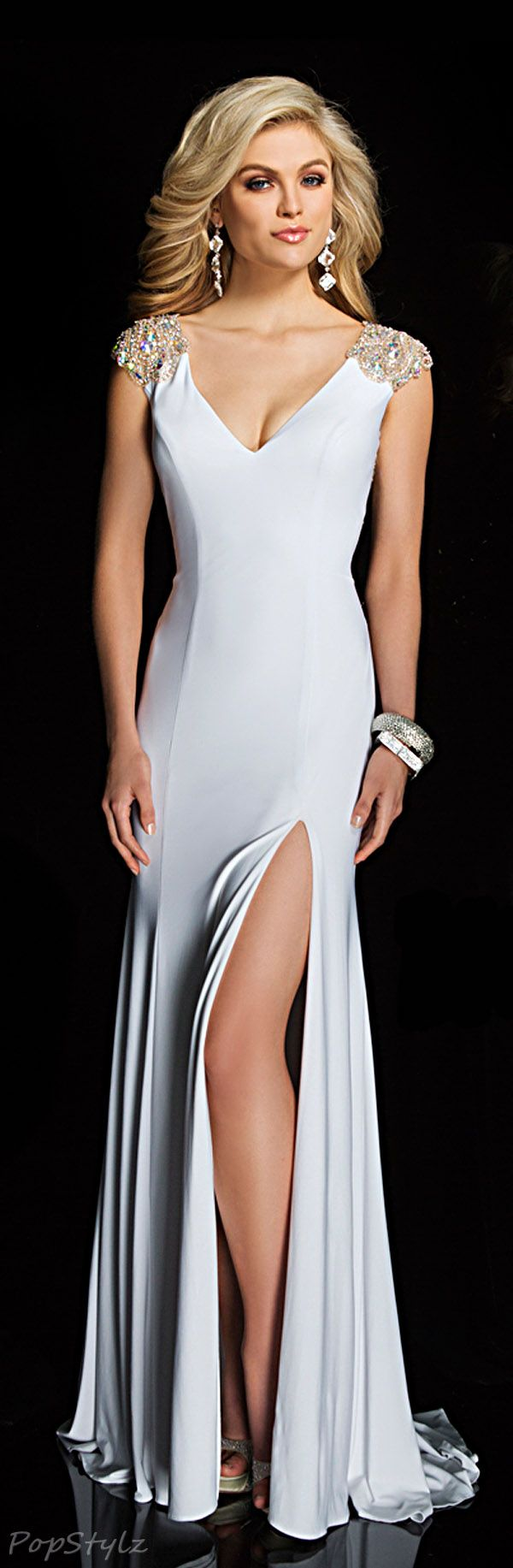 Tony Bowls Elegant Gown