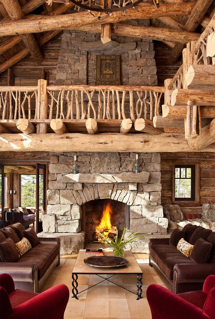 22 best living room images on pinterest antler for Log cabin chandelier