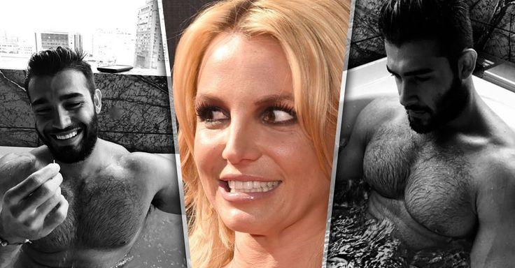 El nuevo novio de Britney Spears es un modelo fitness llamado Sam Ashgari y la princesa del pop le tomo varia fotos casí desnudo, te pondran a arañar cristales