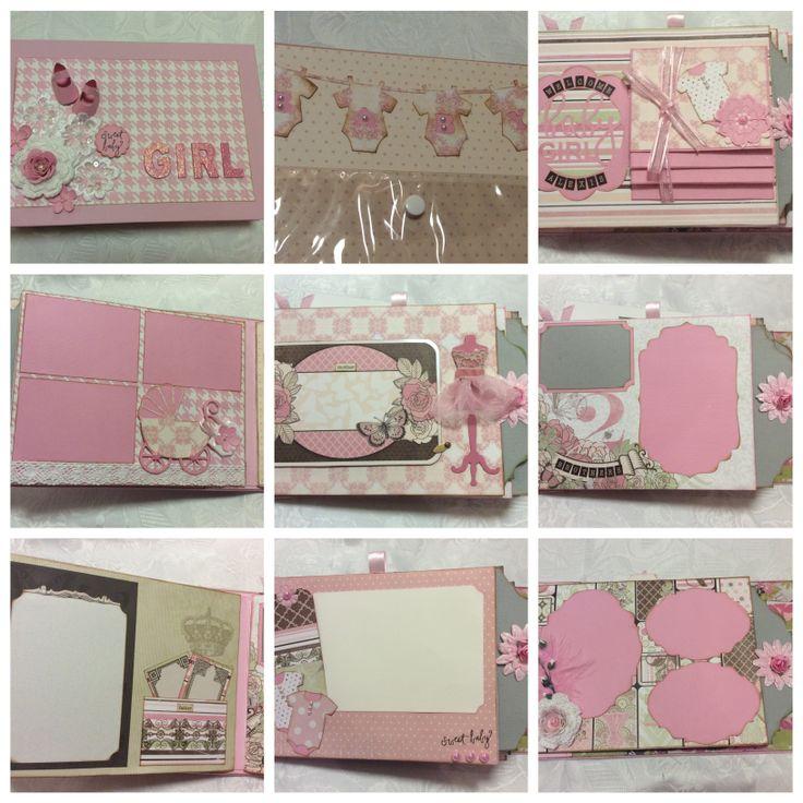 Mini album using Bo Bunny's Primrose collection