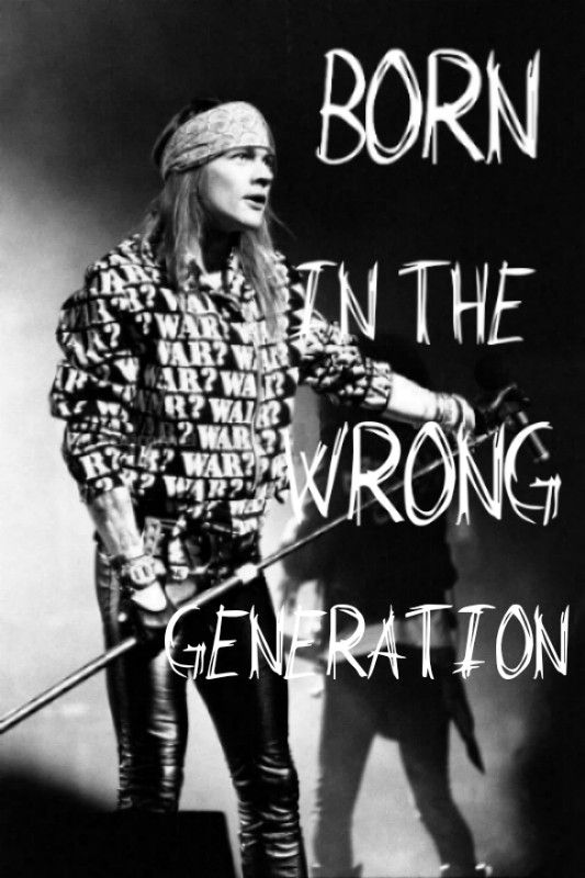 Hey men! I was born in the wrong generation because nowadays music sucks. What I mean is that reggeaton and cumbia lyrics don't have a meaning and I can't stand up for it.