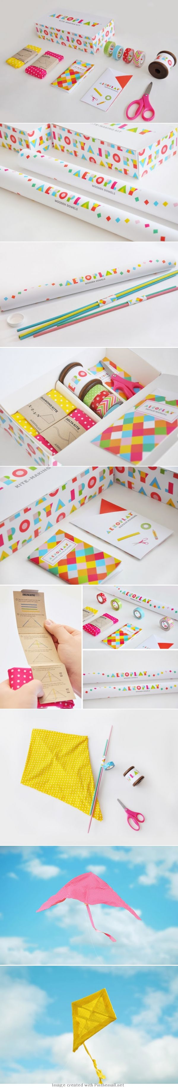 Here you go @Jennifer Milsaps L Yoder Mihailova Aeroplay Kites #packaging PD  -  Torso Vertical Inspirations www.torsovertical.com