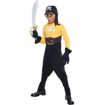 Kids Pirate Minion Costume