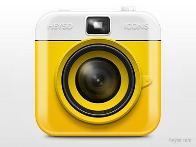 Dribbble - Plastic Camera icon by David Im