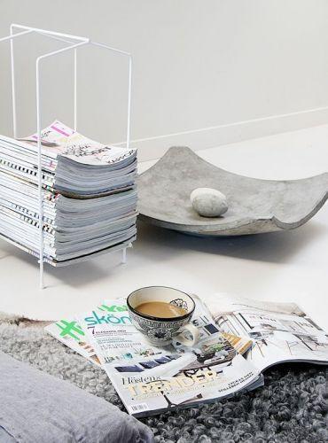 15 pingles rangement de revues incontournables mur de - Porte journaux design ...