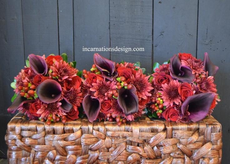 Warm Fall #Wedding.    #InCarnations    www.incarnationsdesign.com