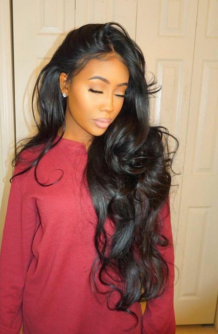 36++ Frisuren lange schwarze haare inspiration