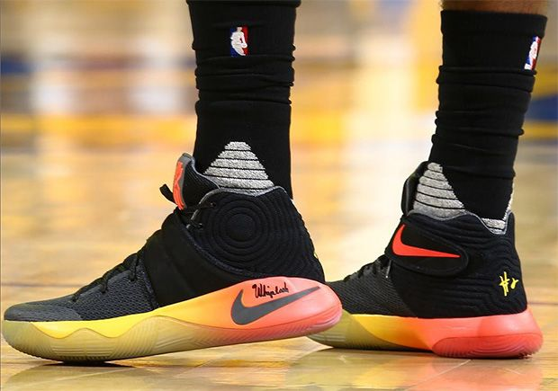 "#sneakers #news  Kyrie Irving Has Monster Game 5 Performance In Nike Kyrie 2 ""Gradient"""