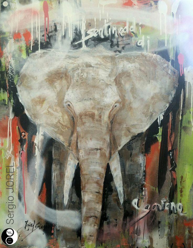 "Sergio JOREL ""Elephant"" Expo AA'Zart'S"