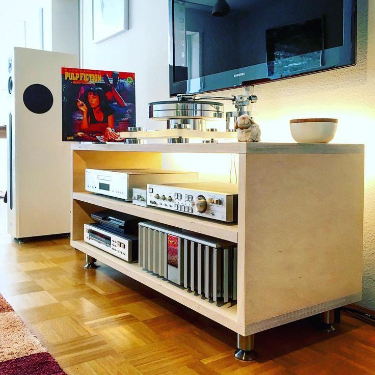 17 best ideas about audio rack on pinterest hifi rack hifi m bel and audio m bel. Black Bedroom Furniture Sets. Home Design Ideas
