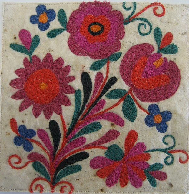 Europe - Romanian embroidery
