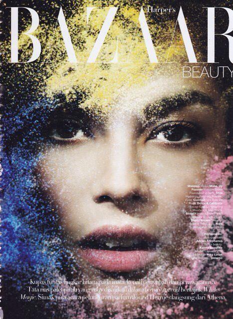 Laysa for Harper's Bazaar