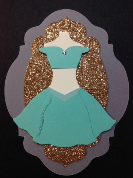 Punch Out Jasmine Dress #DIY #Disney #Aladdin