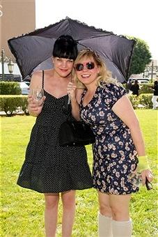 Kirsten Vangsness - Pauley Perrette two of my favorite female actresses!!!
