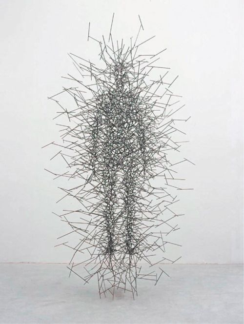 Quantum Cloud by Anthony Gormley