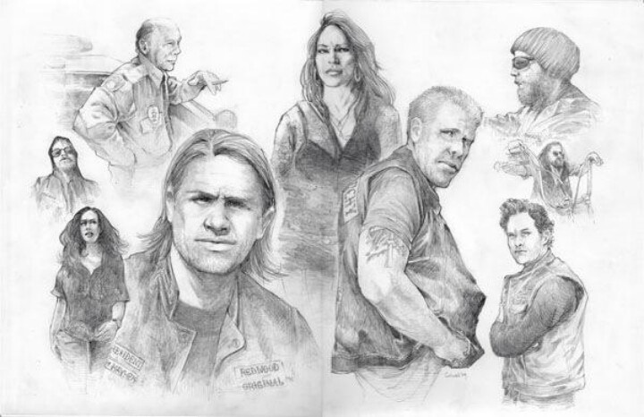 D Line Drawings Jobs : Pin by heather webb on sons of anarchy motorcycle club