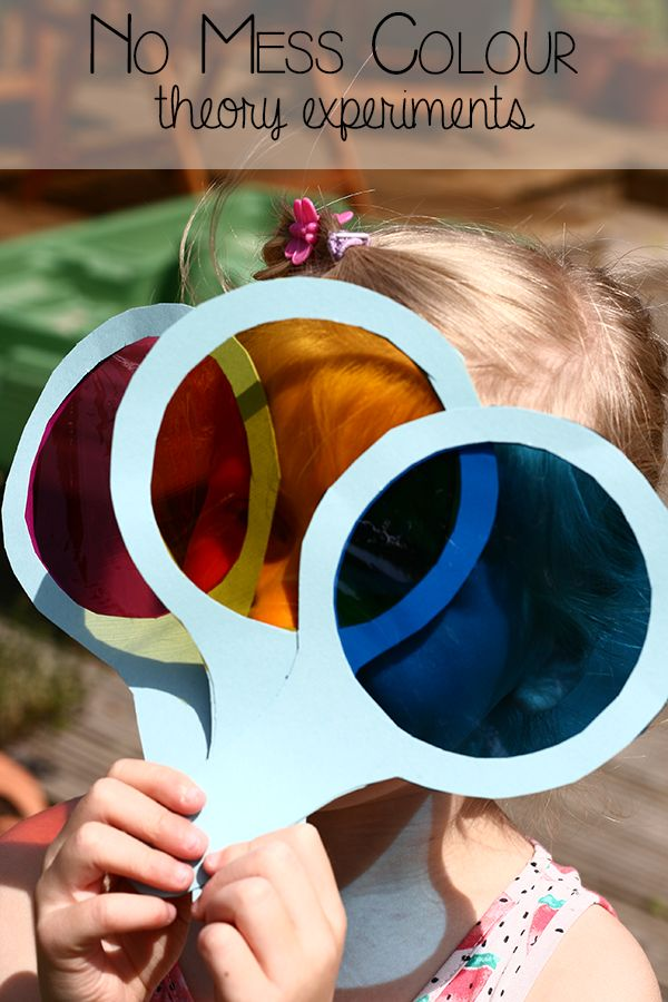 explore colour theory with this simple experiment that involves no mess bringing the classic childrens - Colour Activities For Kids