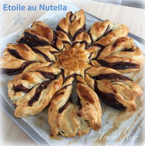 Dessert facile, rapide et qui fait son effet ! étoile au Nutella
