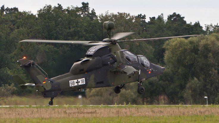 Gazete Duvar ///  Almanya'ya ait askeri helikopter düştü